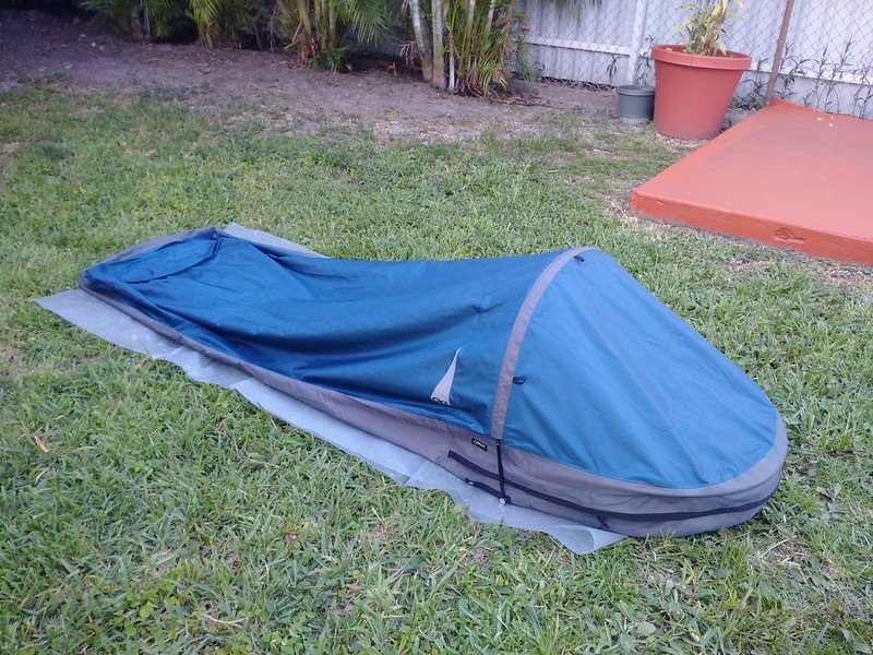 Outdoor Research Alpine Bivy - closed by Dan Passaro on Flickr & Thoughts on bivy sacks? Update3: the footbox area - AR15.COM