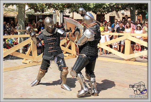 Poza de la Sal, Feria de Artesanía y Alimentación y Combates medievales (12)