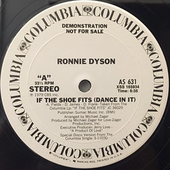 RONNIE DYSON:IF THE SHOE FITS(DANCE IN IT)(LABEL SIDE-A)