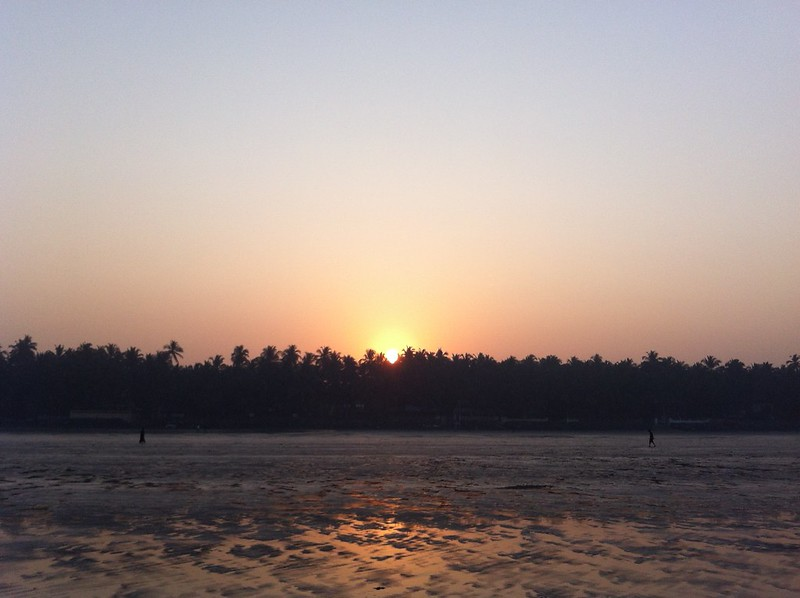 Dawn at Gorai Beach