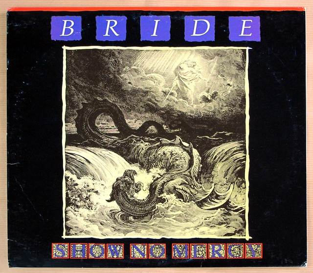 "BRIDE SHOW NO MERCY ORIG PURE METAL 12"" LP VINYL"