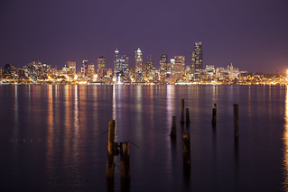 Seattle Skyline | by catchingtheclouds