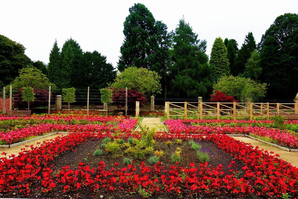 Walled Garden at Rouken Glen, Glasgow