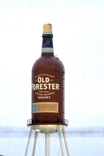World's Largest Bourbon Bottle