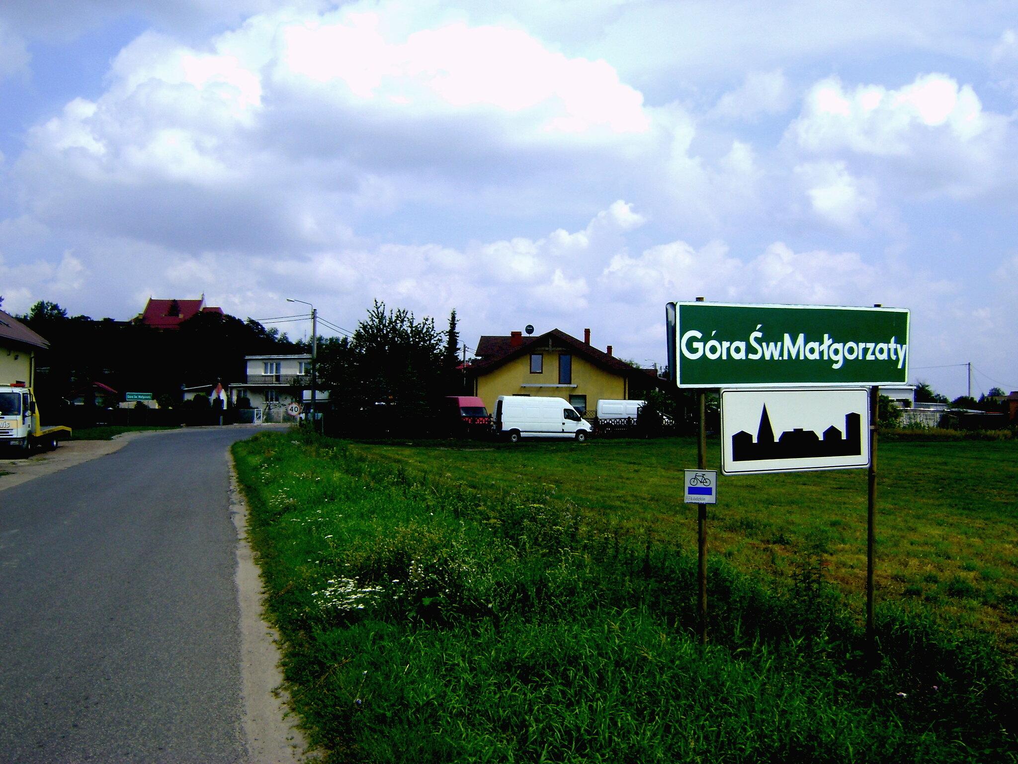 wjazd do Góry św. Małgorzaty
