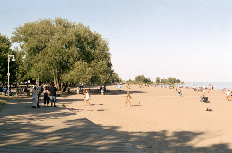 Late Afternoon at Woodbine Beach_