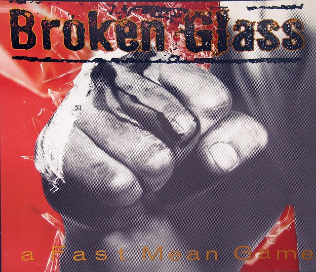 "BROKEN GLASS FAST MEAN GAME 12"" VINYL LP"