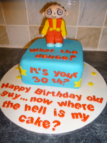 Family Guy Cake Tesco