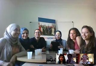 TechWomen in Tunisia with Impact Advisors in California August 2016