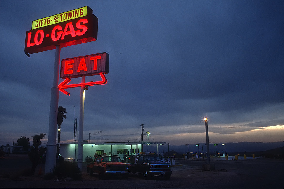 Lo-Gas Eat 1993   by Lost America