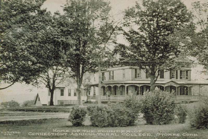Home Of The Founder Of Connecticut Agricultural College (Storrs Homestead)
