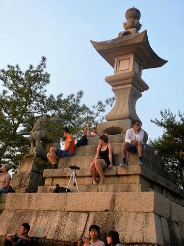 jp16-Myajima-Torii-coucher du soleil  (1)