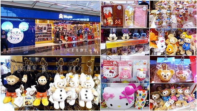 0 香港機場 迪士尼奇妙店 買達菲熊免進迪士尼樂園