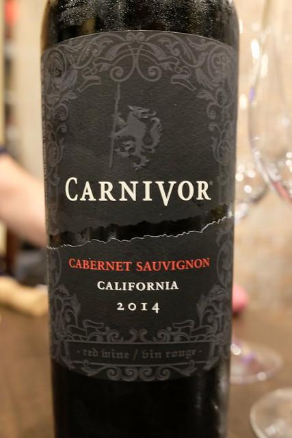 red wine Carnivor