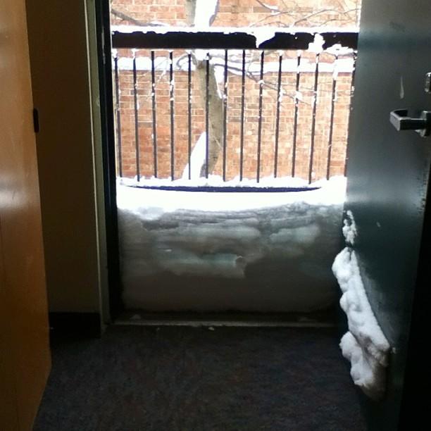 I woke up to this this morning #blizzardof2013