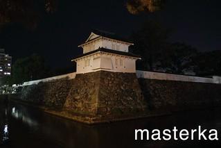 大分城の夜1
