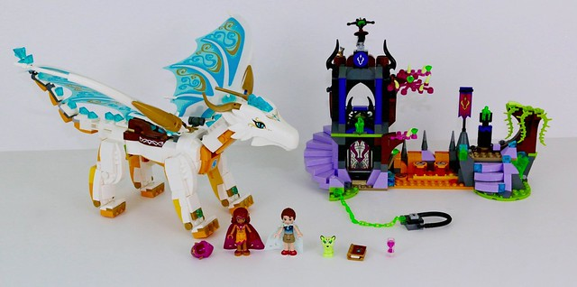 Instruction Brand New Lego Elves Queen Dragon/'s Rescue 41179