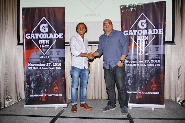 Gatorade Run - 2016 - Coach Rio - SM Mall of Asia -2