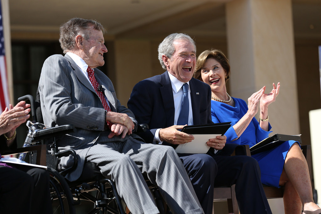 George W. Bush Reacts