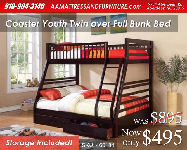 Coaster Youth Bunk WM
