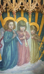 child angel musicians (Reginald Hallward, c1910)