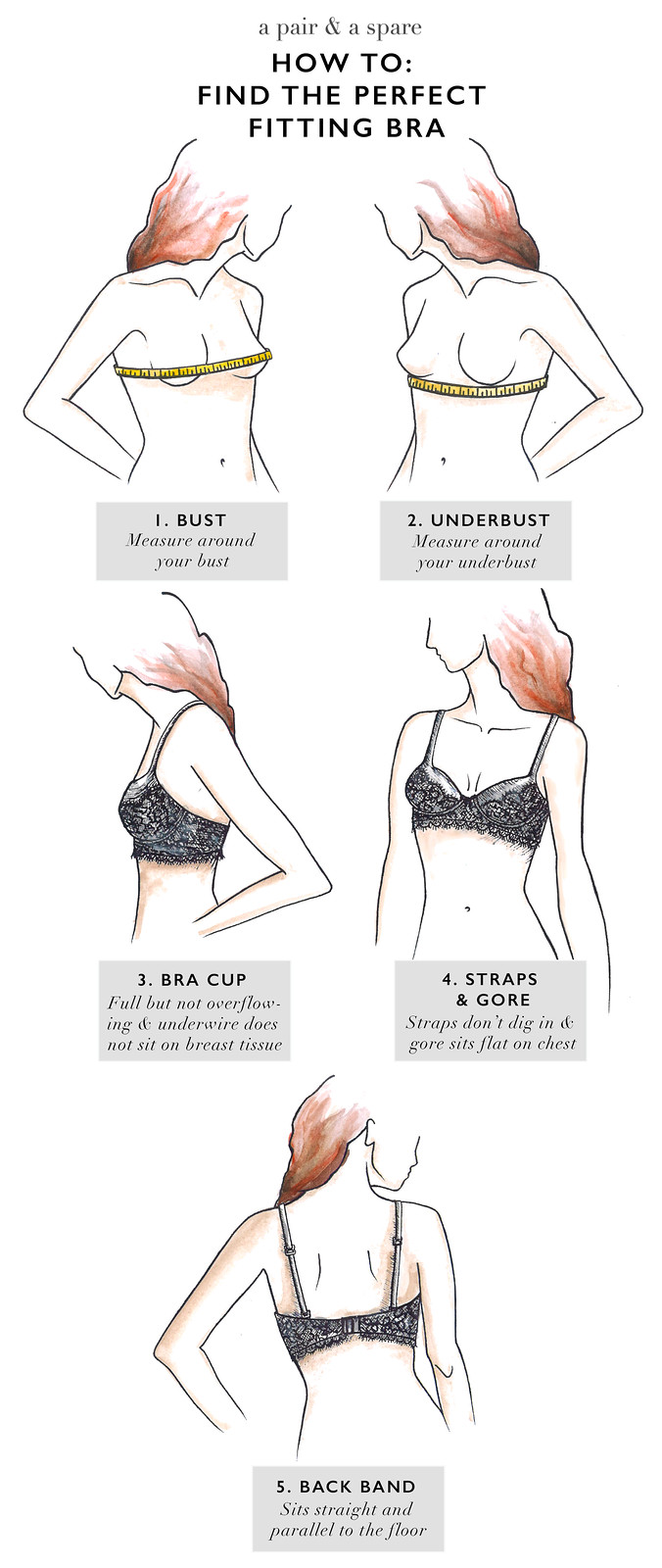 How to find the perfect fitting bra