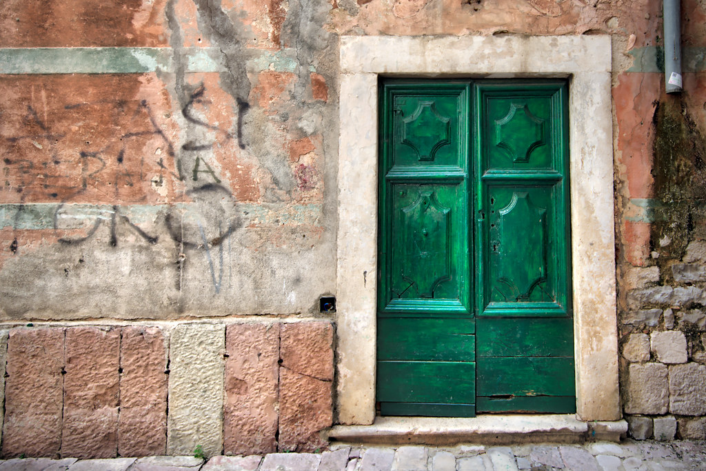 Green Door in Kotor