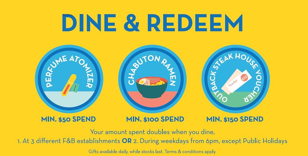 MILLENIA WALK FOOD & VENTURE: Dine and Redeem