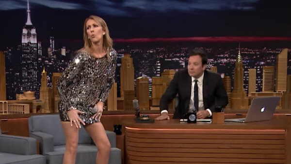 Celine Dion Impersonate Rihanna in Jimmy Fallon Challenge