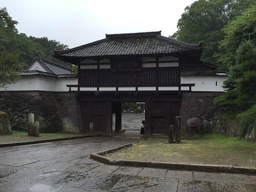 小諸城 三之門