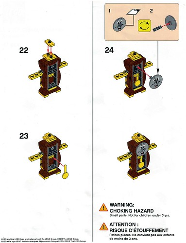 LEGO Disney Princess Cogsworth