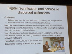 Digital reunification and services of dispersed collections