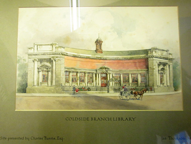 Drawing of Coldside Library, Dundee
