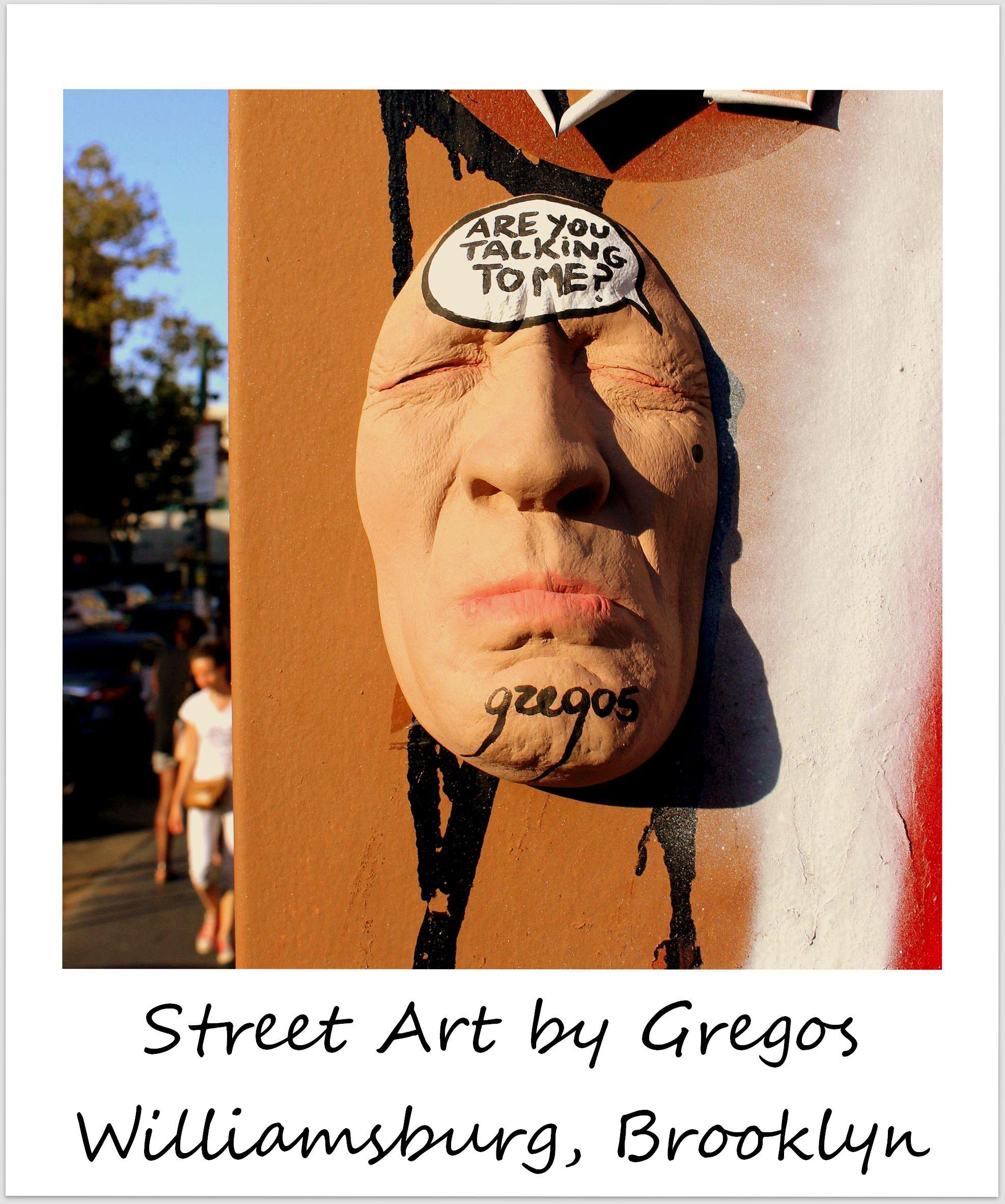 polaroid of the week new york city brooklyn williamsburg gregos street art