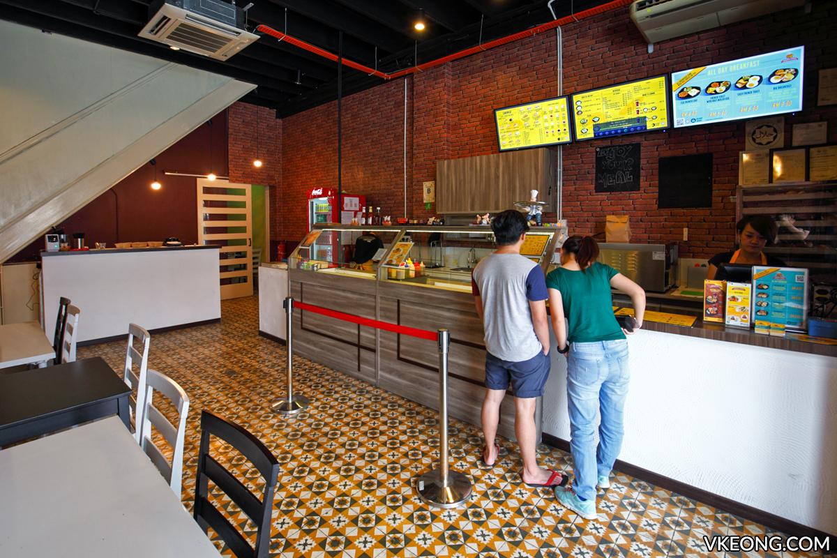 Sandwich Express Sandwich Order Bar