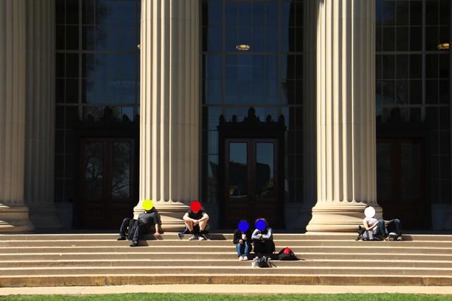 MIT front steps