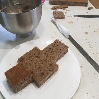 Filled cake