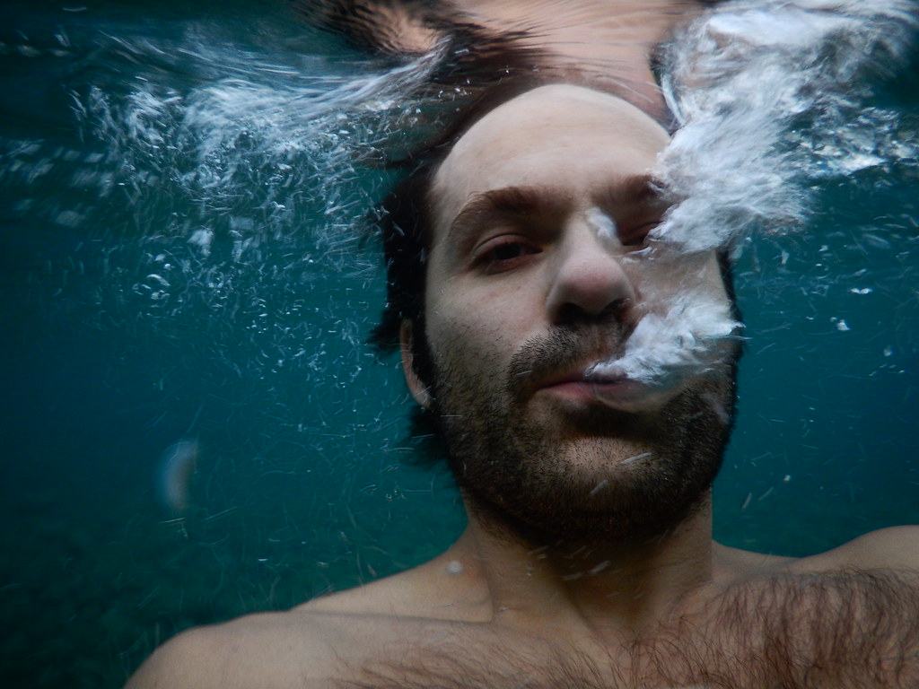 Self Portrait Underwater