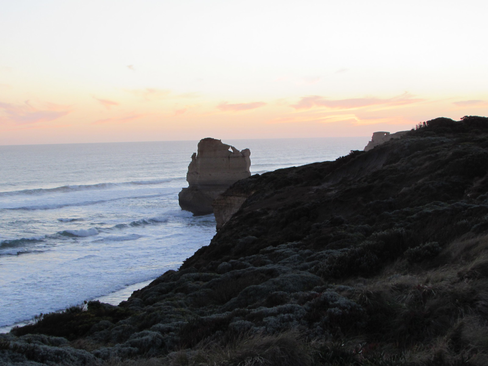 ... when we reached the first of the (not really) Twelve Apostles