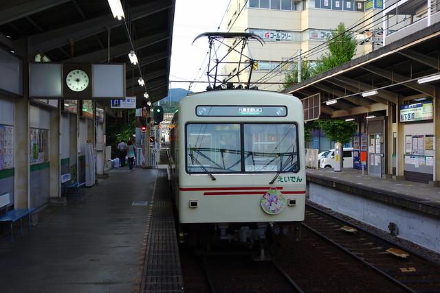 2016/09 叡山電車×三者三葉 ラッピング車両 #20
