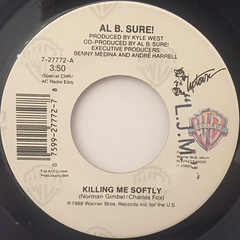 AL B. SURE!:KILLING ME SOFTLY(LABEL SIDE-A)