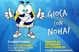 Noicattaro. Locandina Noha Volley front