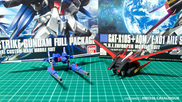 HGCE Aile Strike Gundam × HGBF Build Strike Gundam – Work in Progress #2