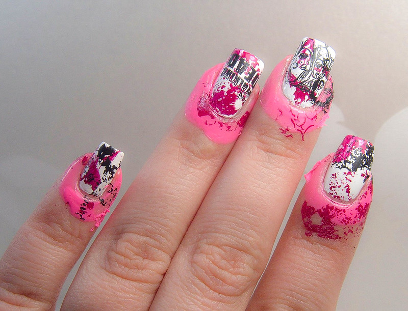 Stamping nails Glisten & Glow CTRL-ALD-DEL CesarsShop