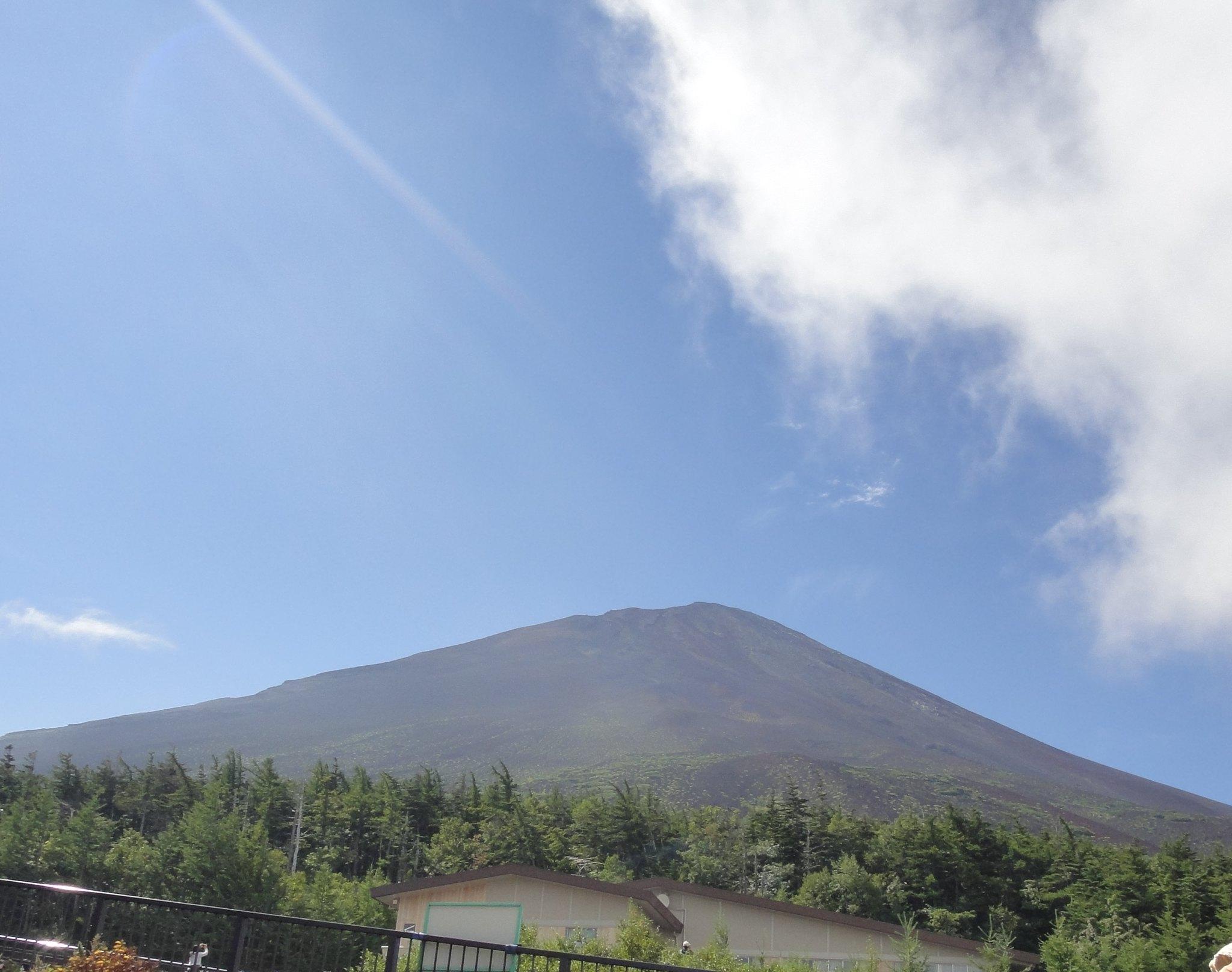 Mount Fuji Sunlight