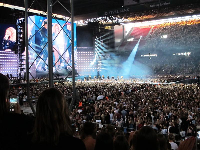 Beyoncé i Köpenhamn!