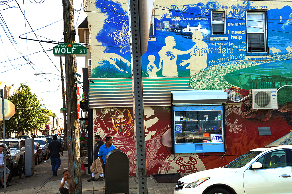 I need help mural--Little Cambodia