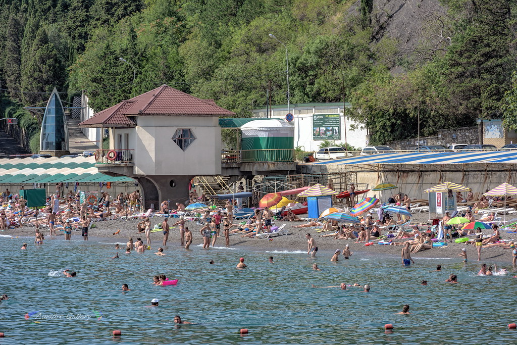 Crimean beach in August I