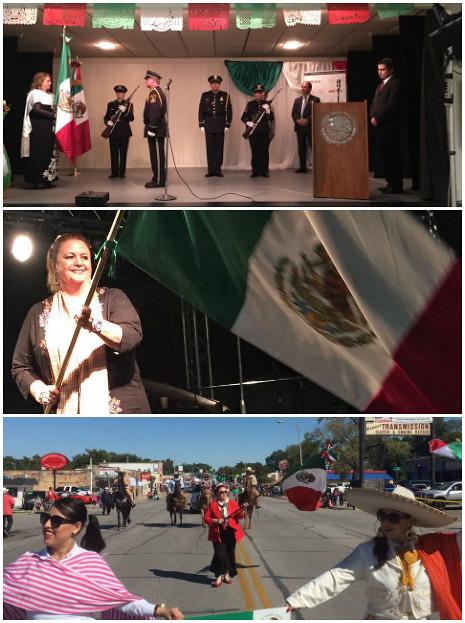 Conmemoración del 206 Aniversario de la Independencia de México