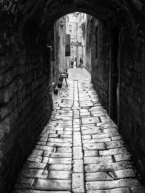 old stone passageway
